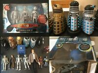 Collectible Figures (Dr Who - Cybermen Age Of Steel Set/Radio Control Dalek, Star Trek)