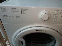Hotpoint vented dryer 8kg vgc fully working