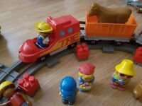 Train track set