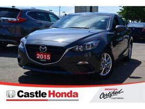 2015 Mazda Mazda3 GS/HEATED SEATS/BACK UP CAMERA/ BLUETOOTH!