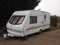 elddis hurinance GT 2 berth 2001 year motor mover no damp everything work as it should!!