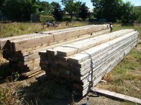 reclaimed pine joists