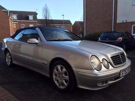 2002 52 Mercedes-Benz CLK230 Convertible Kompressor 60,000 Miles not 320ci c320 Saab 9-3