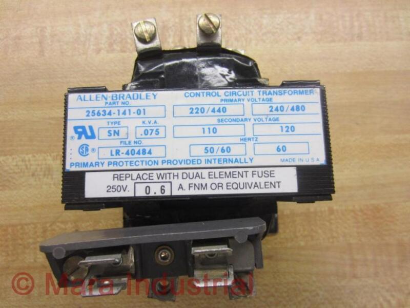 Allen Bradley 25634-141-01 Control Circuit Transformer 2563414101