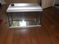 Fish Tanks - two tanks with accessories