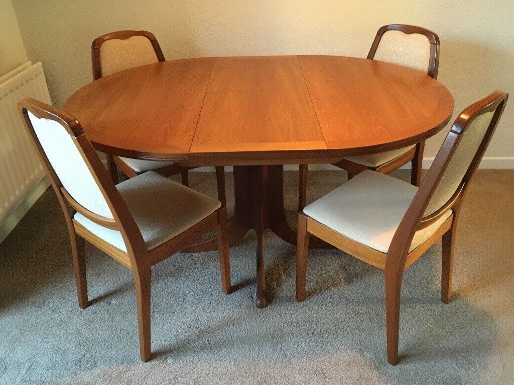 Parker Knoll Teak Round Extendable Dining Table ***Revised ...