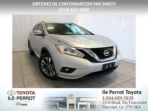 2016 Nissan Murano SV, AWD, A/C, TOIT PANO, GRP ELEC, COMME NEUF