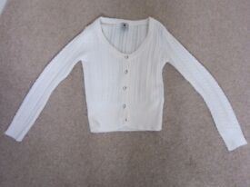 Girls Age 11 tops/cardigans - individually priced - see description
