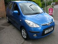 Superb Value 22000 Miles 2010 60 i10 Spec Edition £30 Road Tax Alloy HPI Clear Great Service History