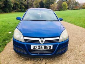 2005 Vauxhall Astra Breeze 1.6, Full service history Blue