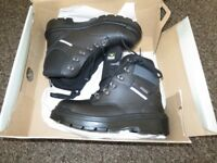 Trojan Aegaeon Gore-TEX Steel toecap Safety Boots Black UK 6 - EU 39 RRP £77.99 NEW
