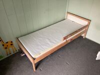 Children's bed and mattress, small single