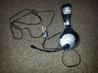 Headset - Altec Lansing - microphone fixed attached