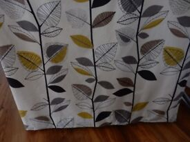 Curtains - John Lewis , two sets, lined and in good condition with pencil pleat headings.
