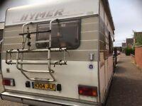 1990 Hymer campervan 2.5L diesel