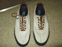 ralph lauren polo canvas shoes,size 9,only worn a few time so in reasonable condition