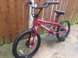 BMX Bike Red