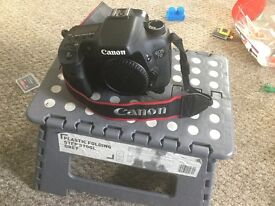 Canon 7d canon 50mm canon 17-40mm and much more for only £800