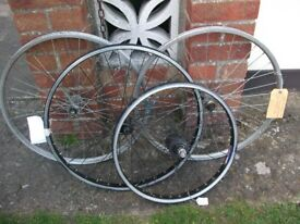 WHEELS ALL SIZES ONLY £5 AND £3, BIG SAVEINGS.