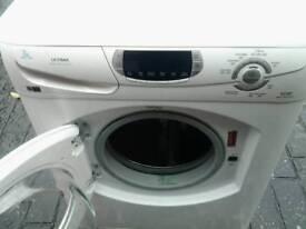Hotpoint super silent washing machine as new.