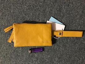 Designer Lumi leather purse