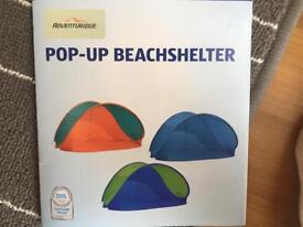Pop up beachshelter