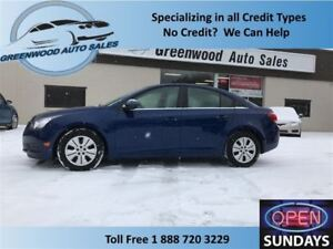 2012 Chevrolet Cruze LT! GREAT COLOUR! GOOD KM (113885) CALL NOW