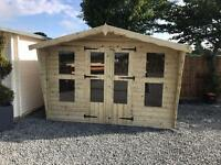 10x8 tanalized t&g summer house