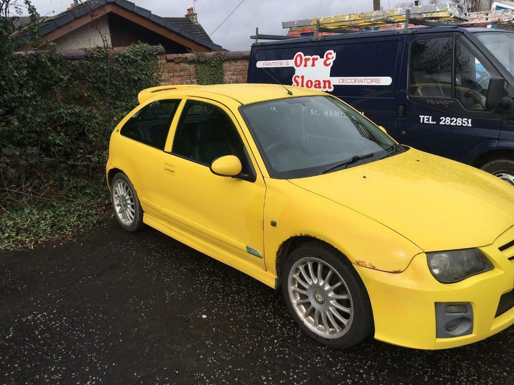 mg zr 1 4 trophy yellow in hamilton south lanarkshire. Black Bedroom Furniture Sets. Home Design Ideas