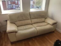 Leather sofa in perfect condition