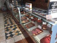 Butcher equipment - display fridge