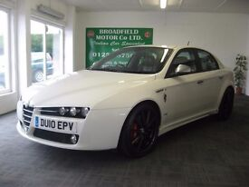 REDUCED!! 10-10 ALFA 159 2.0 JTDM TI 67K F.S.H HPI CLEAR 2 OWNERS