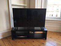 "49"" LED HD TV, TV stand and Sky box"