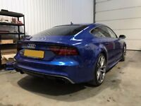 AUDI RS7 LUXURY CAR HIRE, SELF DRIVE, OR DRIVEN, WEDDING, SPECIAL OCCASIONS, PROMS