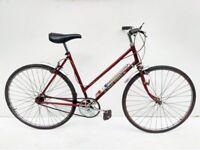 Vintage Raleigh Trent SportsTown bicycle