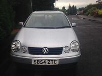 VW Polo 2004 (54)/ Hatchback/ 44,000/ Manual/ 1.4l/ Petrol/ 75bph