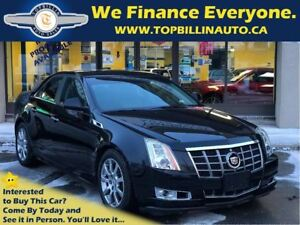 2013 Cadillac CTS 4 AWD, 2 YEARS WARRANTY, 82K km