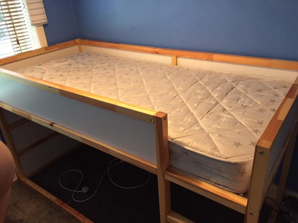 Childrens bed plus next mattress REDUCED