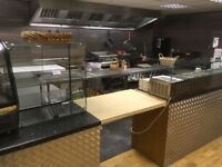Catering equipment all contents of a cafe in reddish excellent condition large range of items