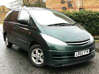 2002 Toyota Previa 2.4 CDX AUTO Full Leathers * PX Welcome *