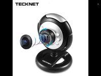 Tecknet HD 720p webcam