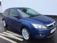 Ford Focus 1.8 Zetec 2008 3DOOR 45000 miles Mot April
