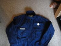 Welders protective overalls boilersuit good quality size 42 inch new