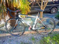Carbon fibre Trek Domane Series Four Road Bike