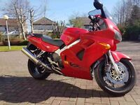 Honda VFR 800 year 2000. Low milage and well looked after.