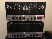 THD UniValve 15 and BiValve 30 Class A valve guitar amp heads