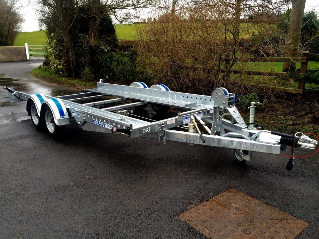 Car transporter Dale kane 14x6,2 tilt bed car transporter