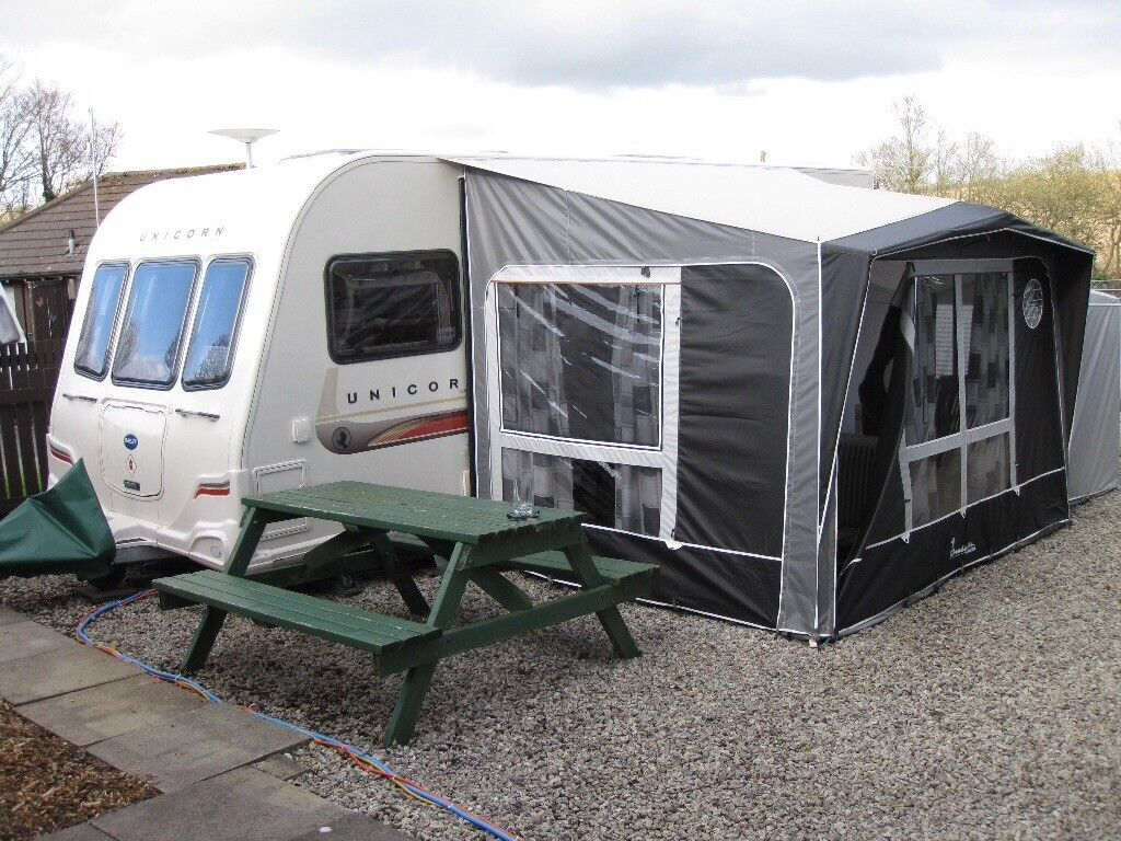 Isabella Magnum Awning Complete With Bedroom Extension And Inner Tent