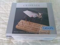 Gibsons Cribbage Game - Brand New