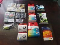 various ink cartridges